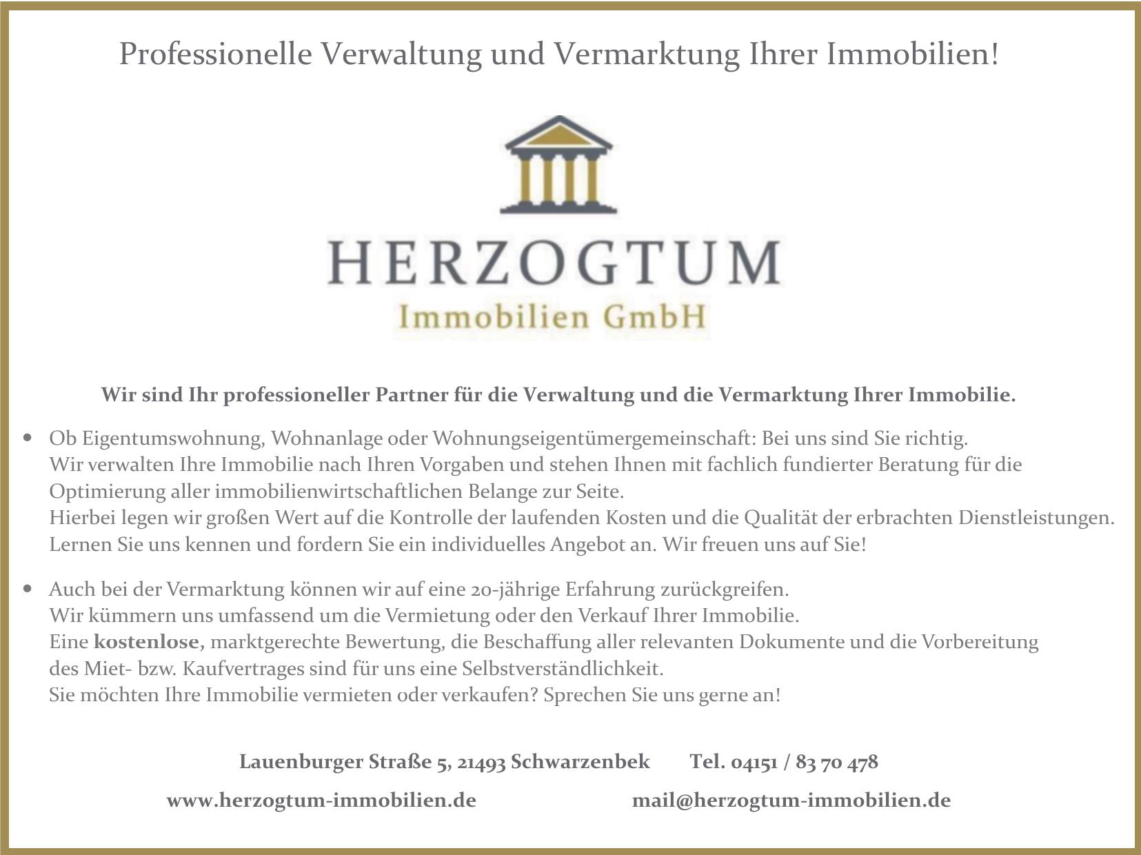 Herzogtum Immobilien GmbH