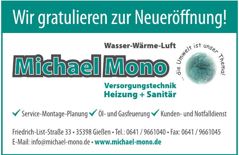 Michael Mono Versorgungstechnik Heizung + Sanitär