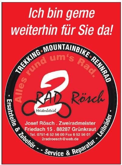 Rad Rösch Meisterbetrieb