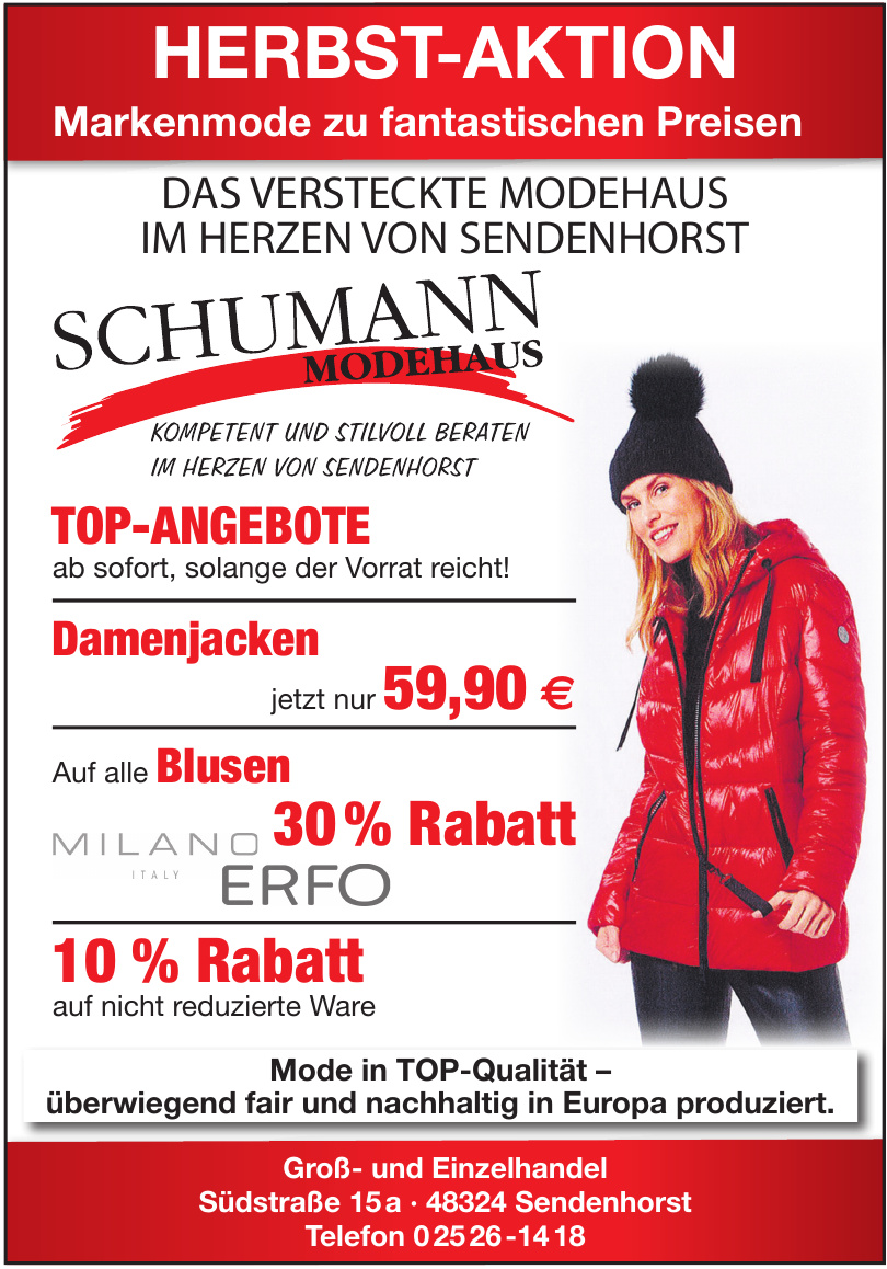 Modehaus Schumann