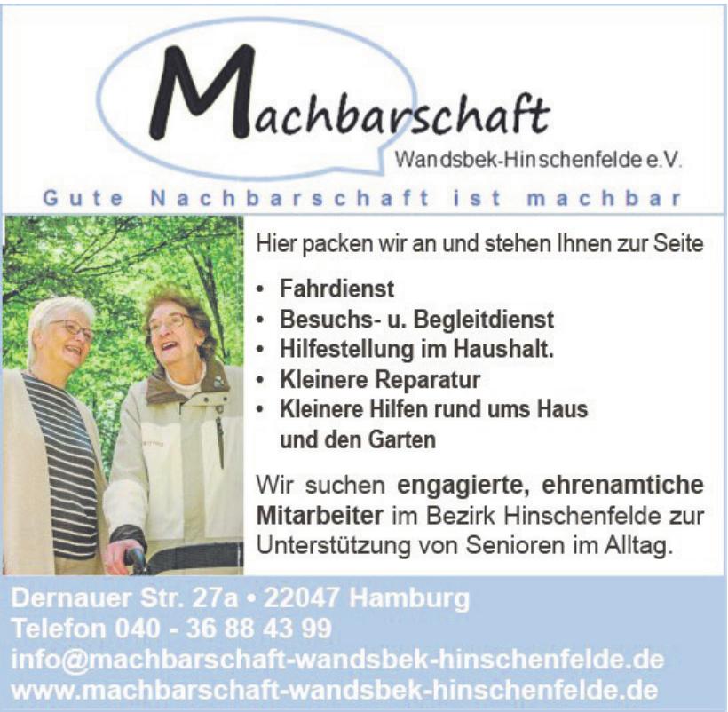 Machbarschaft Wandsbek-Hinschenfelde e.V.