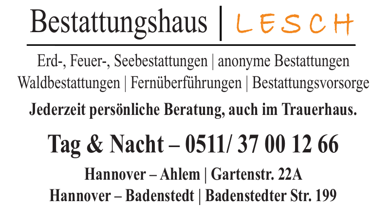 Bestattungshaus Lesch