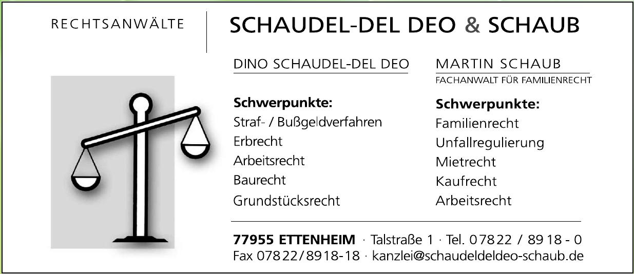 Rechtsanwälte Schaudel-del Deo & Schaub