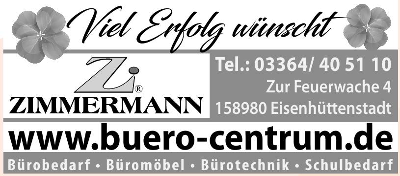 Zimmermann Büro-Centrum