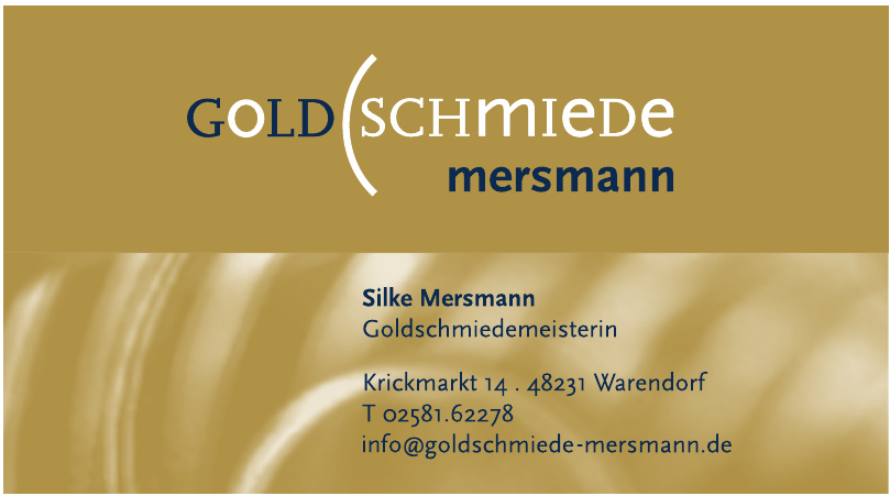 Goldschmiede Mersmann