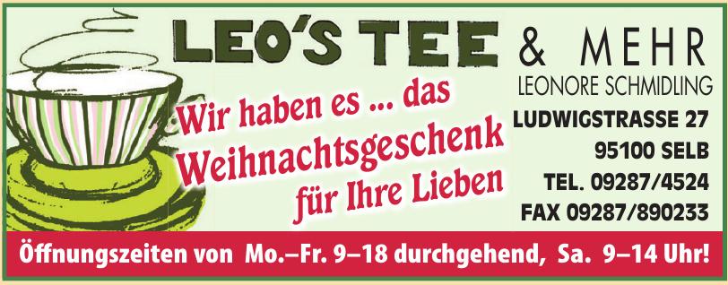 Leo's Tee & mehr Leonore Schmidling