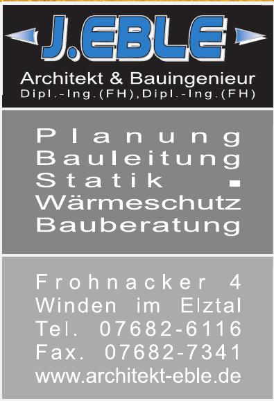 J. Eble Architekt & Bauingenieur