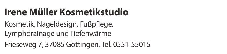 Irene Müller Kosmetikstudio
