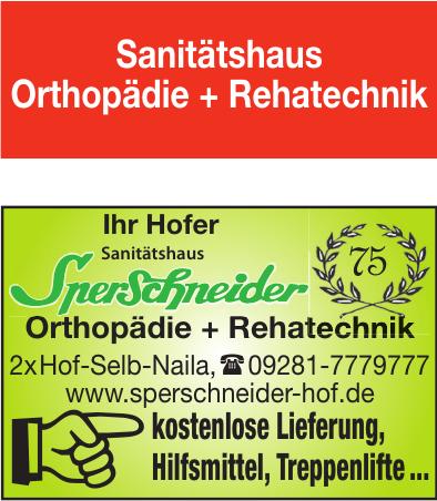 Sanitätshaus Sperschneider