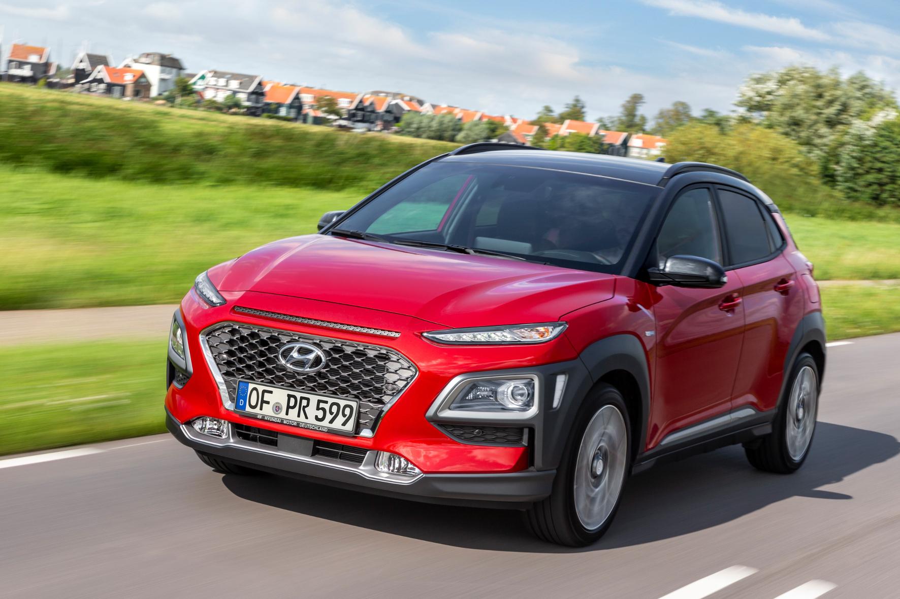 Sparsam und rundum modern: der Hyundai Kona mit Mildhybrid-Antrieb