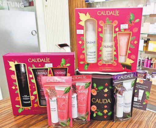 Wohlfühlpflege für Zuhause: Die Produkte von Caudalie gibt es im Geschenkset bis zum 31. Dezember mit zehn Prozent Weihnachtsrabatt.