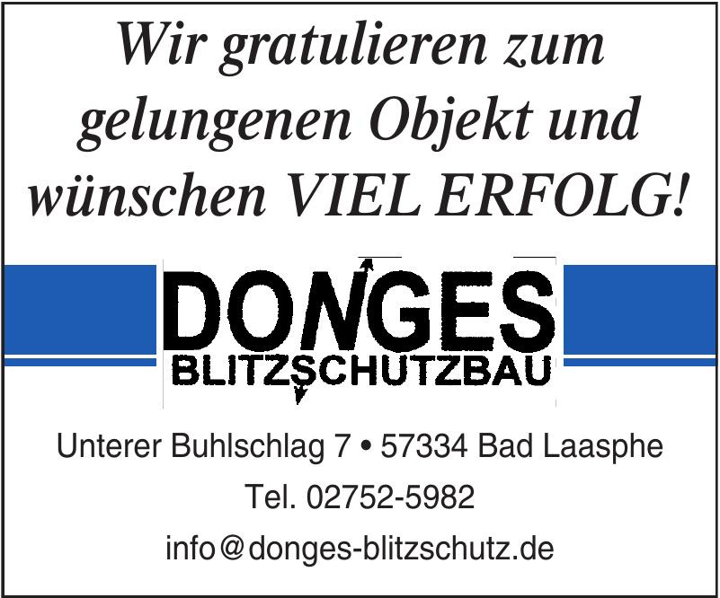Donges Blitzschutzbau