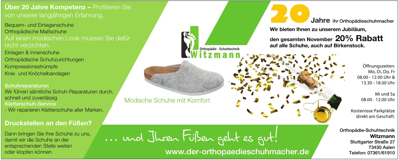 Orthopädie-Schuhtechnik Witzmann