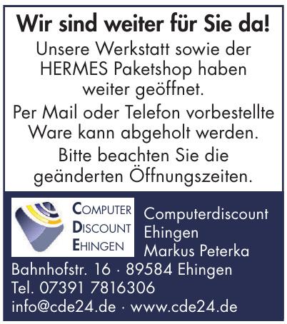 Computerdiscount Ehingen