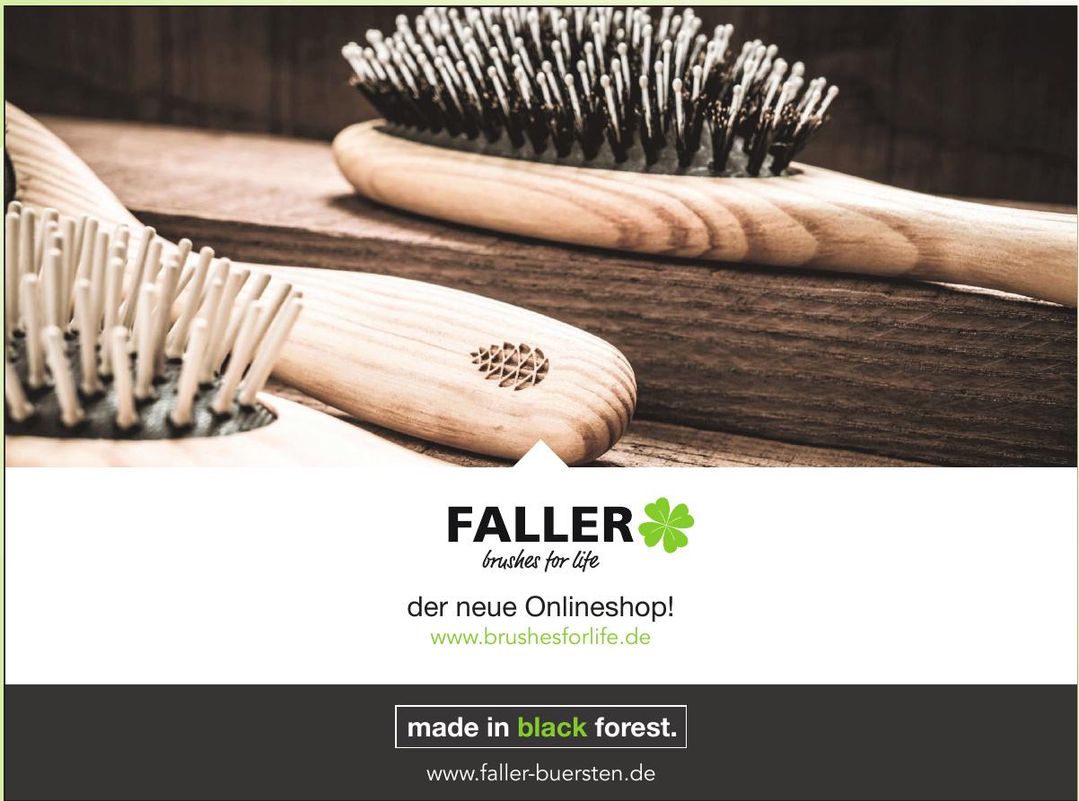Bürstenfabrik Faller