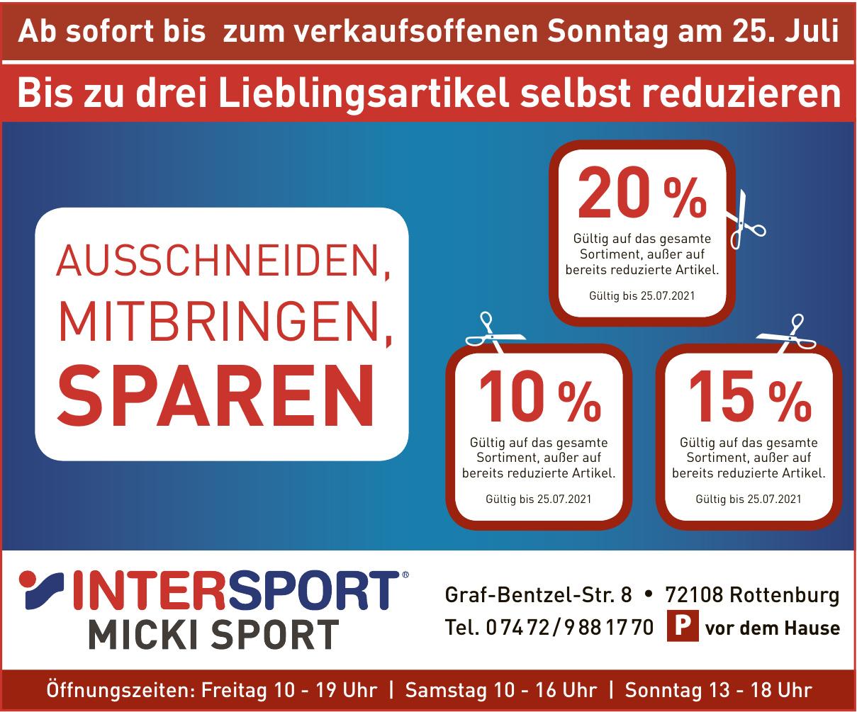 Intersport Micki Sport