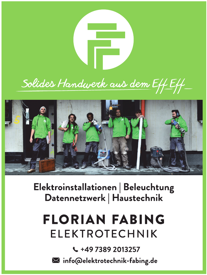 Florian Fabing Elektrotechnik