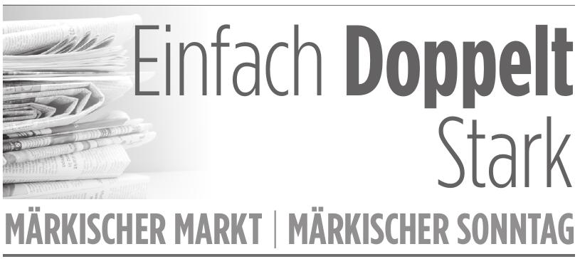 Märkischer Markt - Märkischer Sonntag