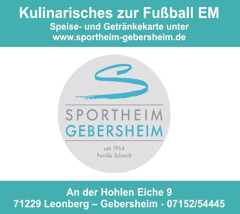 Sportheim Gebersheim