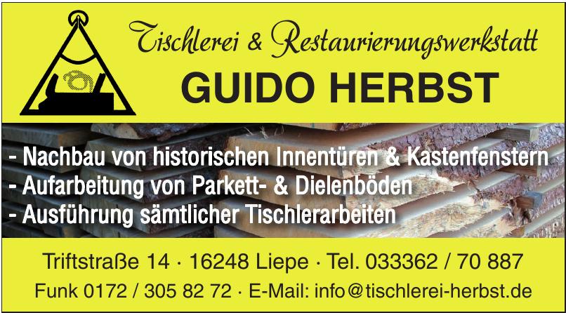 Guido Herbst - Tischlerei & Restaurierungswerkstatt