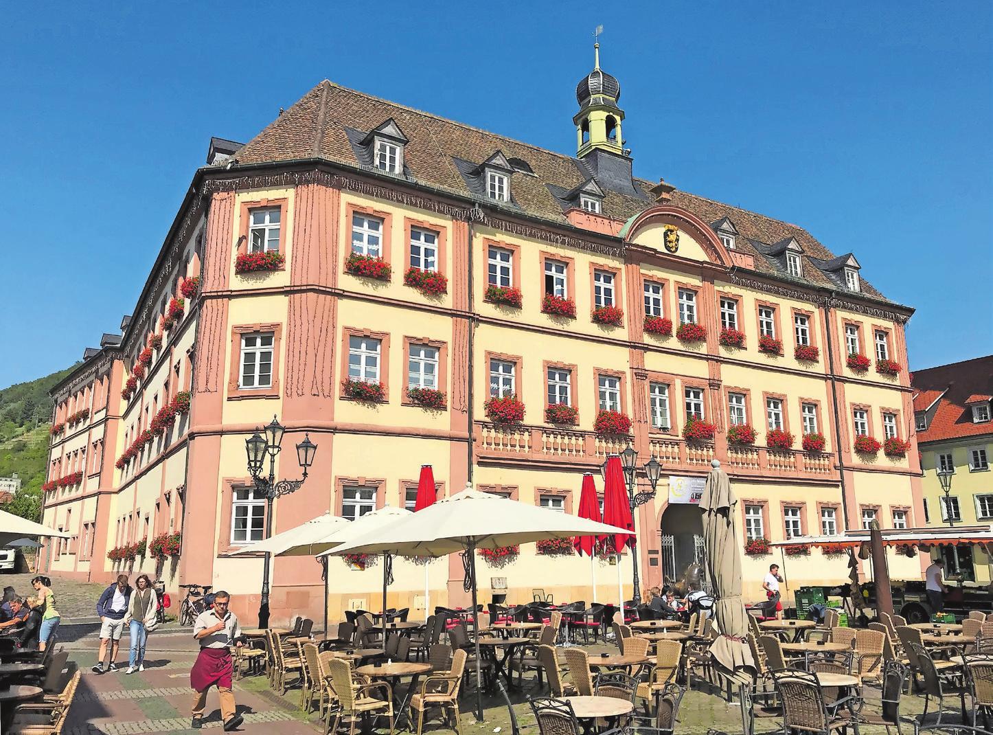 Schaltzentrale der kreisfreien Stadt Neustadt: das Rathaus am Marktplatz. Foto: ffg