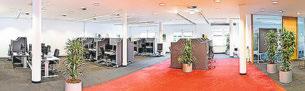 SUMMCOM bietet seinen Mitarbeitern am Standort Völklingen attraktive Arbeitsplätze. Foto: Honk Photo