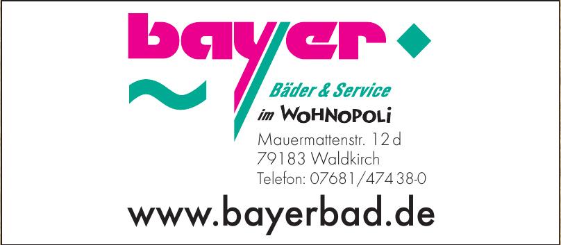 Bayer Bäder & Service