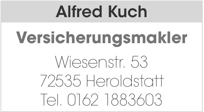 Alfred Kuch Versicherungsmakler