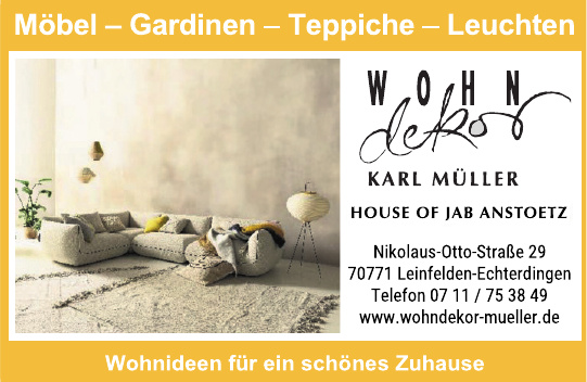 Wohndekor Karl Müller