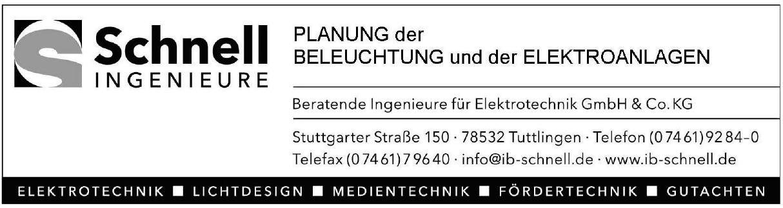 Schnell - Ingenieure GmbH & Co. KG