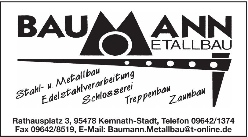 Baumann Metallbau