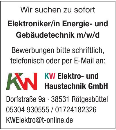 KW Elektro- und Haustechnik GmbH