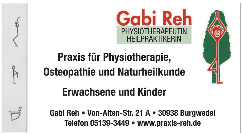 Gabi Reh Physiotherapeutin Heilpraktikerin