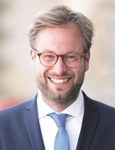 Anjes Tjarks ist Senator für Verkehr und Mobilitätswende der Freien und Hansestadt Hamburg