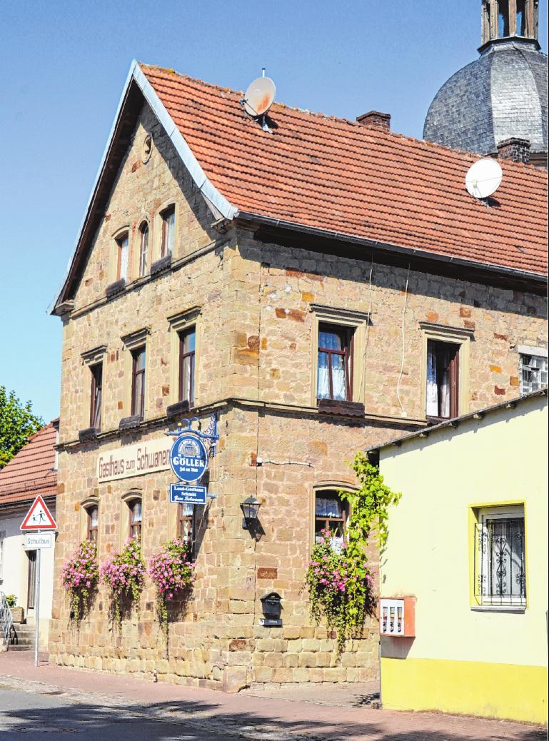 Das Gasthaus Schmitt ist zur Kirchweih von Freitag bis Montag ab 12 Uhr geöffnet. FOTO: JOCHEN REITWIESNER