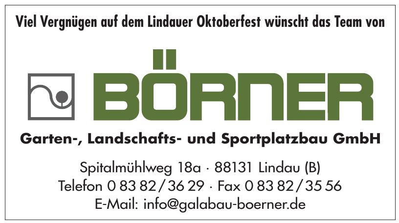 Rudolf Börner Garten-, Landschafts- und Sportplatzbau GmbH