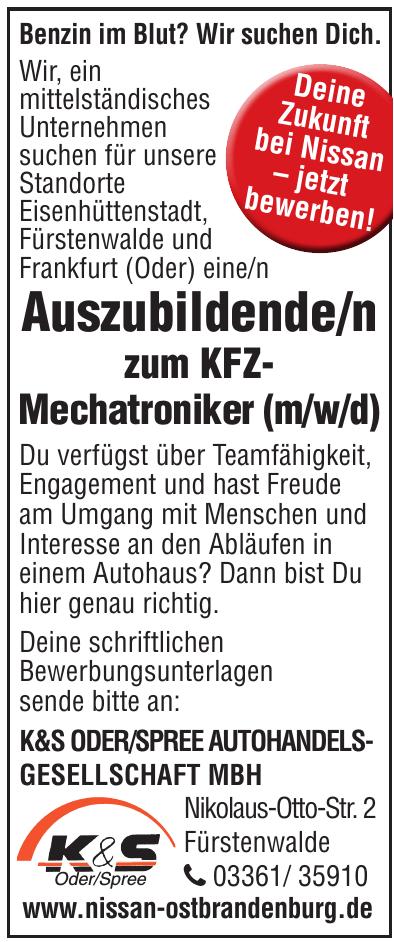 K&S Oder/Spree Autohandelsgesellschaft MBH