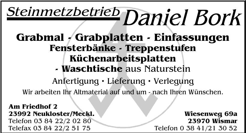 Steinmetzbetrieb Daniel Bork