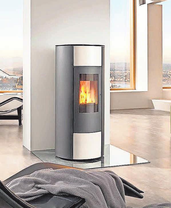 Die Pelletöfen, die das Unternehmen anbietet, vereinen höchste Effizienz und ein formschönes Design.