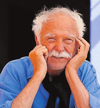 """Horst Eckert, man kennt ihn als """"Janosch"""". FOTO: LIEVENTHAL/FREI"""