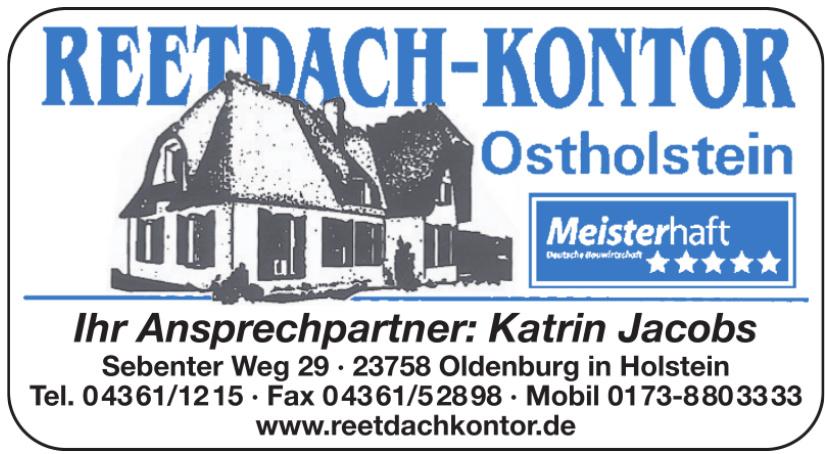 Reetdach-Kontor Holstein