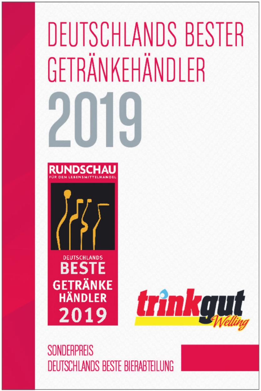 Deutschlands Bester Getränkehändler 2019