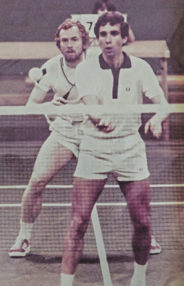 Doppelpartner: Ronald Maywald und Willi Braun (v.).