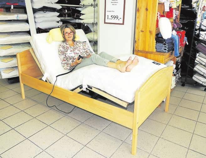 Seniorenbetten bieten individuellen Schlafkomfort. FOTO: TAU