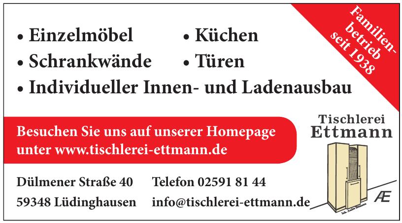 Tischlerei Ettmann