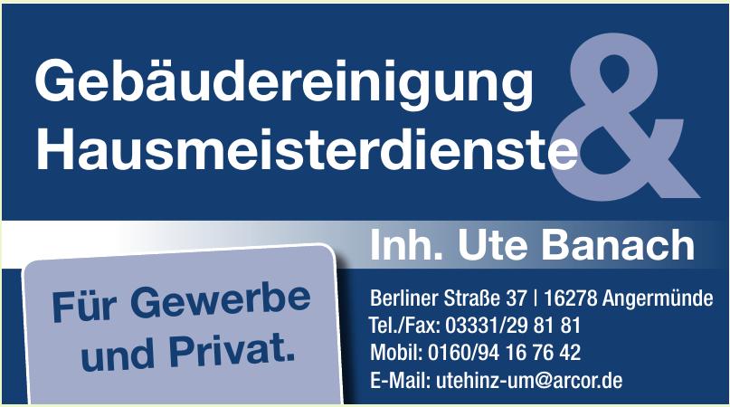 Gebäudereinigung & Hausmeisterdienste Inh. Ute Banach