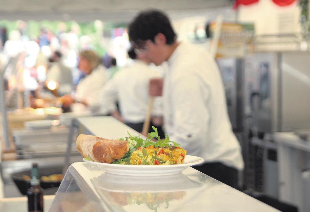 Es ist angerichtet: Den Appetit sollte man sich trotz der verschärften Pandemiemassnahmen nicht verderben lassen. Foto: zVg.