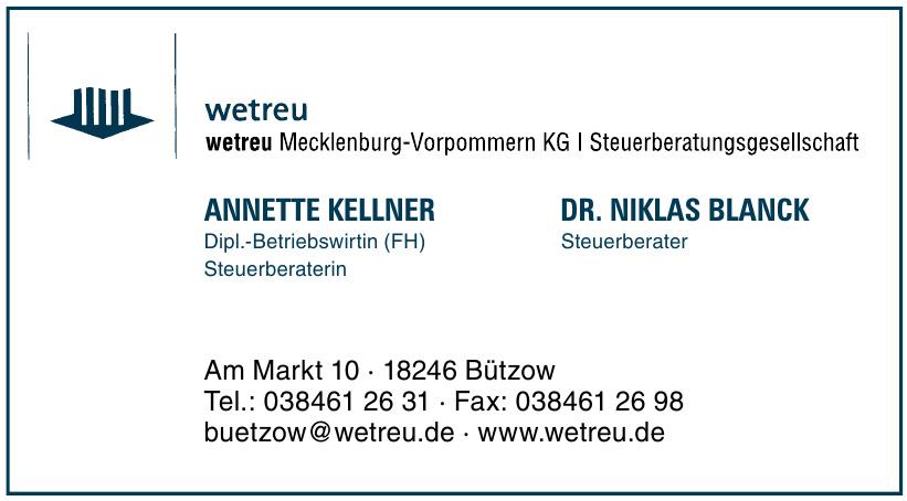 Wetreu Mecklenburg-Vorpommern KG/ Steuerberatungsgesellschaft