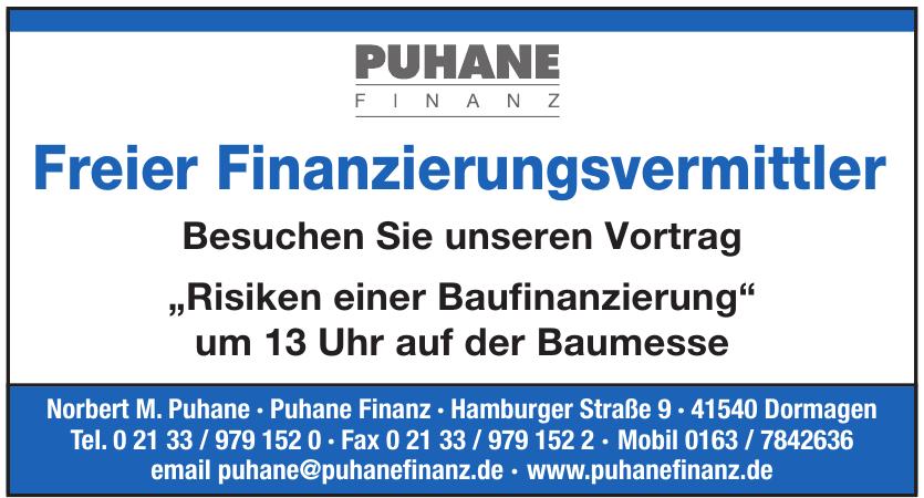 Norbert M. Puhane - Puhane Finanz