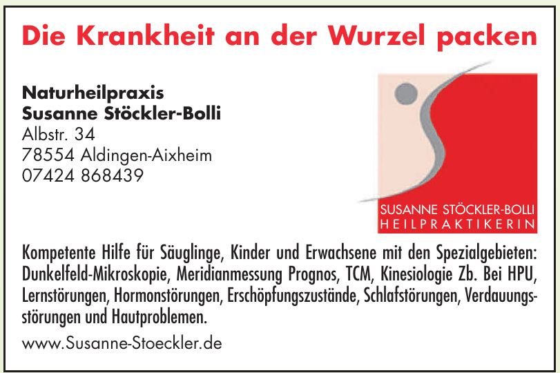 Naturheilpraxis Susanne Stöckler-Bolli
